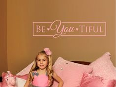 Beautiful Wall Decal - Word Quotes Wall Decal by Wall Jems