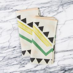 geos napkins :: a sunny afternoon