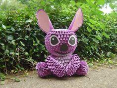 3D Origami – Disney Little Stitch