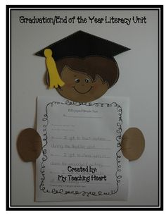 End the year on a positive note with students remembering favourite memories of the year. This unit includes:- a graduation child craft with temp...