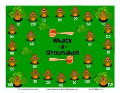 FREE Skills involved are adding single digits and double digits with a zero in the one's place. Now, go whack-a-mole.