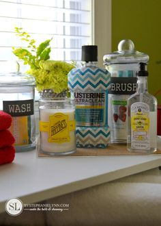 Guest Bath Necessities | bathroom essentials for unexpected guests #ListerineDesign #ad