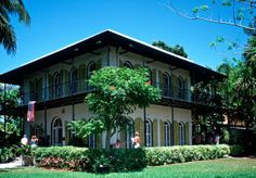 The Hemingway House in Key West.