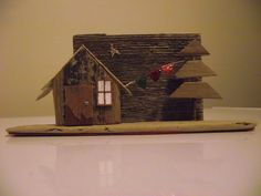 Driftwood house (made for Anna)
