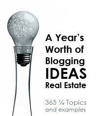 Need some blog ideas? 365 days of blogging ideas for real estate!