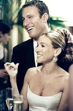 Carrie & Aiden... I was always so torn which guy I wanted her with.