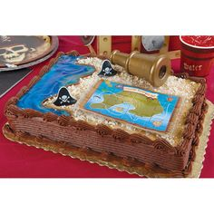 Pirate Adventure Cake Topper from Punchbowl