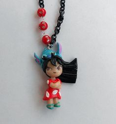 Lilo Disney by ~AyumiDesign on deviantART fimo creation, fimo mulan, deviantart, disney fimo, lilo disney, disney princess, disney cruis, clay disney