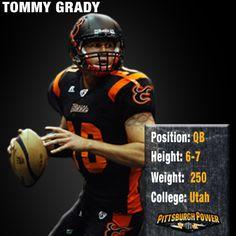 #10 Tommy Grady - QB