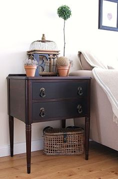 Idea for bedside table