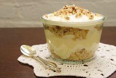 Individual Italian Cream Cake Trifles