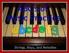 ABC's of Music Practice
