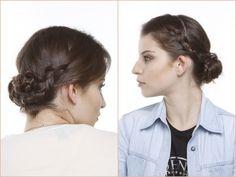Dois modelos de penteado com trança que são fáceis de fazer e dão um super efeito