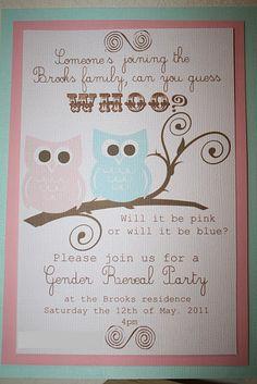 baby invites