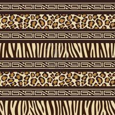 african animal patterns