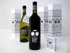 Sugar Skull wine by Catherine Bourdon