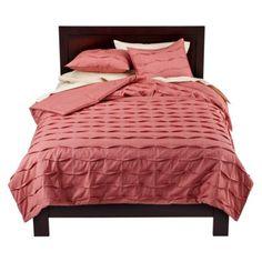 Target Home™ Printed Texture Comforter - Rose.Opens in a new window hero imag, rose, bedroom idea, new bedroom, print textur, colleg bedroom, textur comfort, bedding sets, comforters