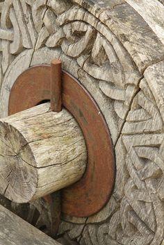 Trebuchet Wheel, Urquahart Castle | Flickr - Photo Sharing!
