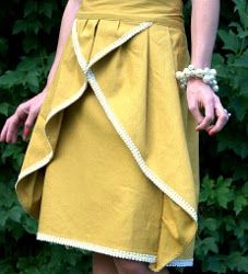 The Pinwheel Skirt   AllFreeSewing.com