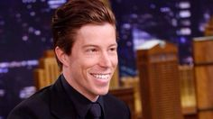 Shaun White on The Tonight Show Starring Jimmy Fallon. February 27, 2014.