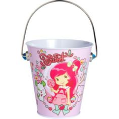 Strawberry Shortcake Metal Pail - Party City