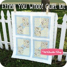 Ethan You Whoo! Quilt Kit Featuring You Whoo! by Shelly Comiskey - Fat Quarter Shop