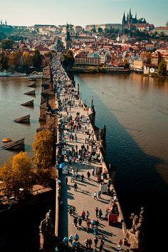 Charles Bridge, Prague!