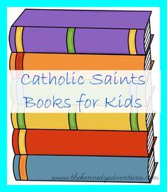 Catholic saints books for kids