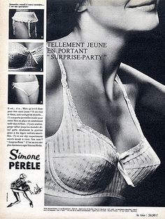 #vintage #ad #50s #lingerie