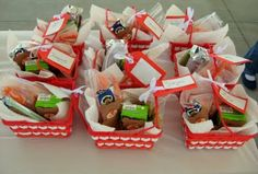 Lunches for Teddy Bear Picnic Party