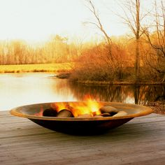 I want my outdoor nook to have a giant fire pit