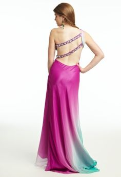 Ombre Chiffon Prom Dress from Camille La Vie and Group USA