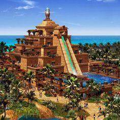 Love Atlantis in the Bahamas.