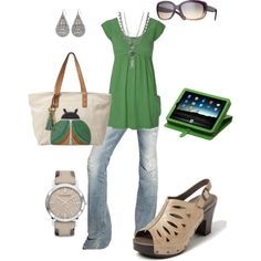 casual, created by lauriefetz on Polyvore
