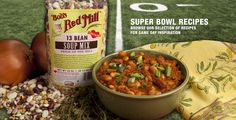 Bob's Red Mill website with recipes for all their gluten-free products