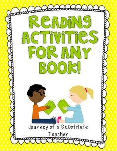 Reading Activities For Any Book- relieving