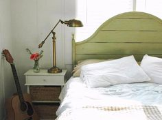 Bring in Baskets - 9 Tiny yet Beautiful Bedrooms on HGTV