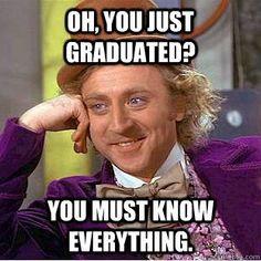 gene wilder willy wonka just graduated must know everything