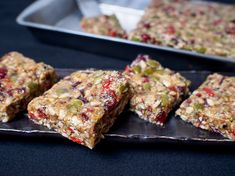 Vegan Seed Bars. Eve