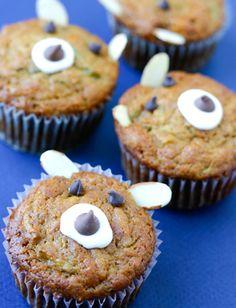 Apple Bear Muffins