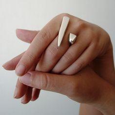 CLAUDIA MARTINO DESIGN silver ring