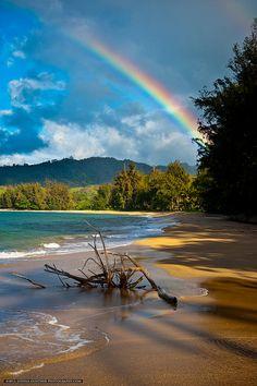 Kaua, Hawaii Rainbow (By Joshua Gunther