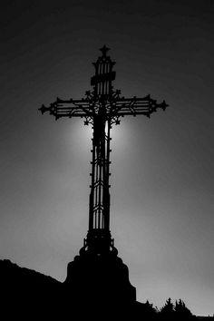 Cross at Cathar Church Minerve France