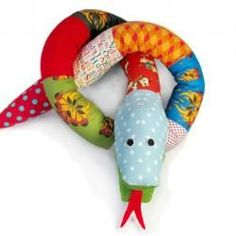 Silly Scrap Snakes from Funky Friends Factory