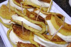 Mini cachapitas con queso telita