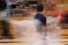 Speed of Ball. Basketball.