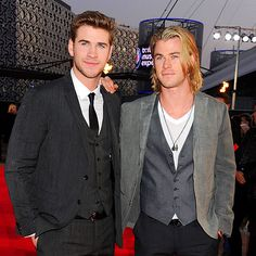 two gorgeous men in the family? what???