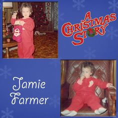 Our next Christmas Story cast and crew as kids is Jamie Farmer. We're thinking all this baby jumper needs is a set of rabbit ears and she'd be giving Raphie a run for his money! #christmas #achristmasstory #holiday #tennesseerep #nashville christma stori, achristmasstori, tennesse repertori, a christmas story, babi jumper, holidays, repertori theatr, kids, big kid