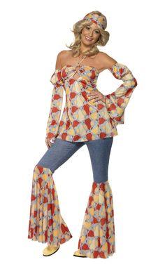 1970's Vintage Hippy Costume.