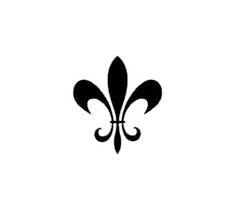 I like this fleur de lis pattern